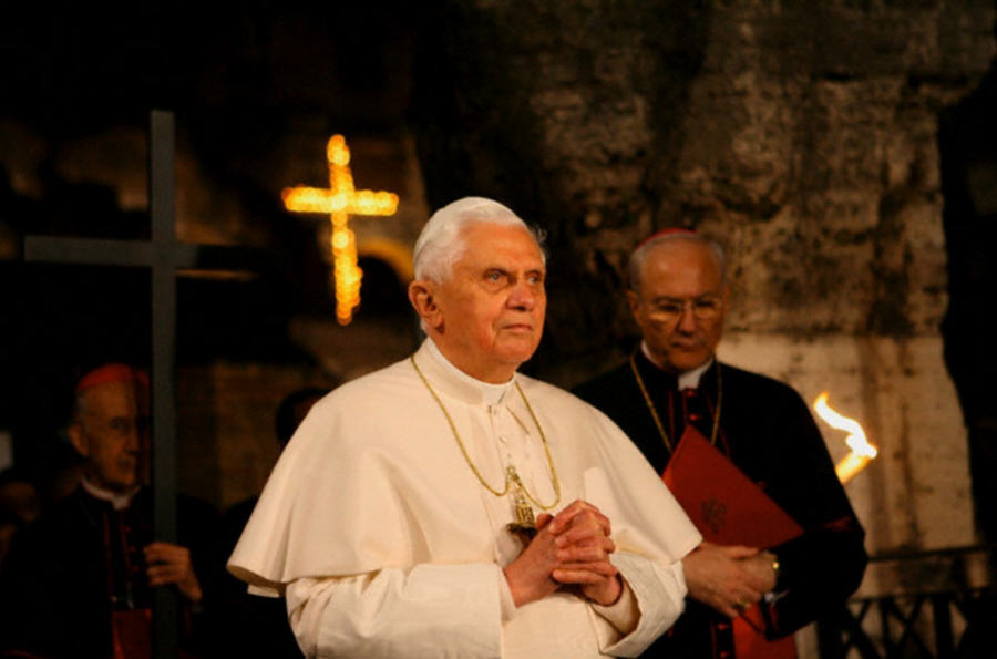 Папа Бенедикт XVI На вчерашнем «Ангелусе»