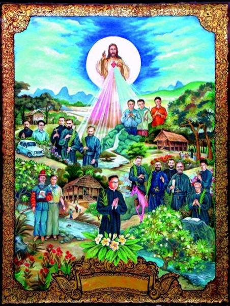 17 martyrer fra Laos