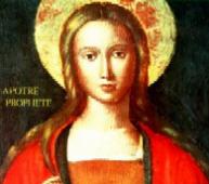 <b>...</b> le pape Benoît XVI a rappelé la grande figure de <b>Marie Madeleine</b> que le <b>...</b> - 230706_marie_madeleine