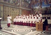 La chapelle musicale Sixtine