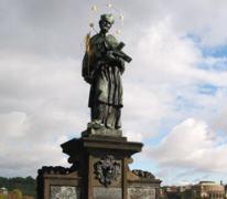 Statue de Saint Jean Népomucène