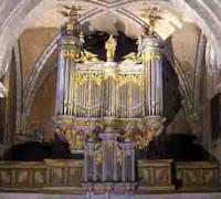 Orgue en la cathédrale d'Oloron Ste Marie